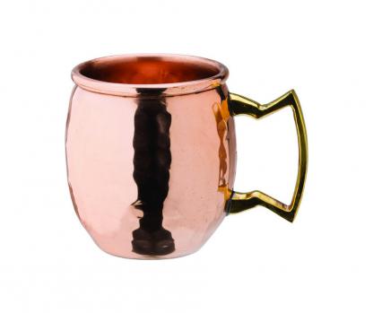 Mini Copper Hammered Mug 2.75oz