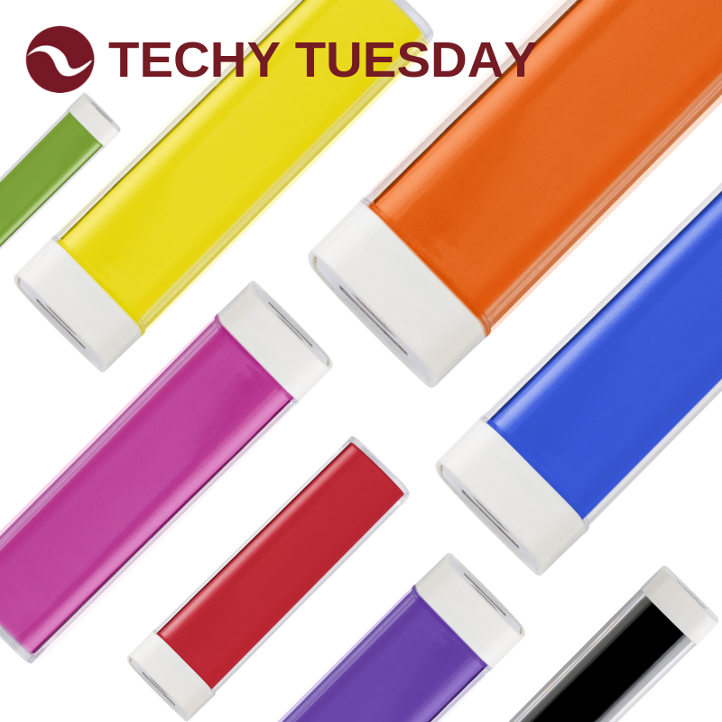 Techy Tuesday - Promotional Power Bank Chargers