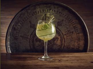 Square Gin Glass