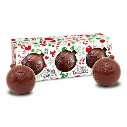 Chocolate Bauble Set