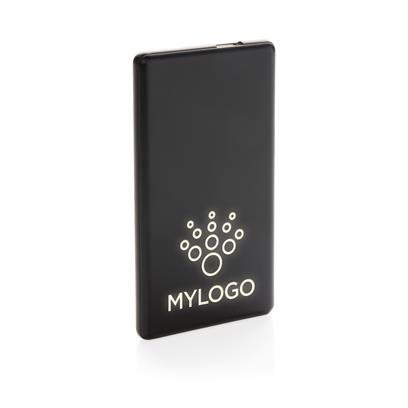 Light-Up Promotional Power Bank with a Logo