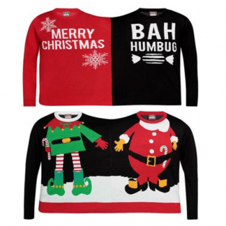 Promotional Work Bestie Christmas Jumpers