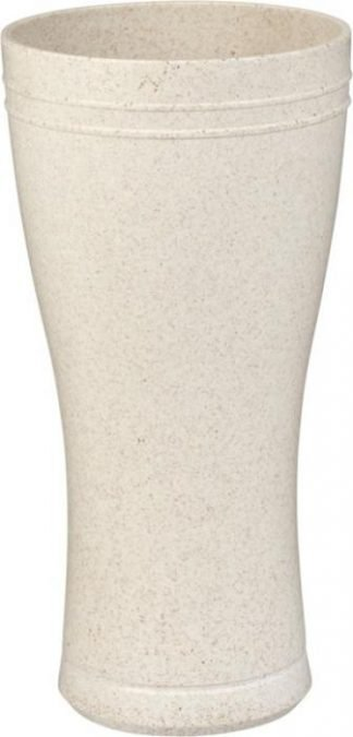 Wheat straw beer glass