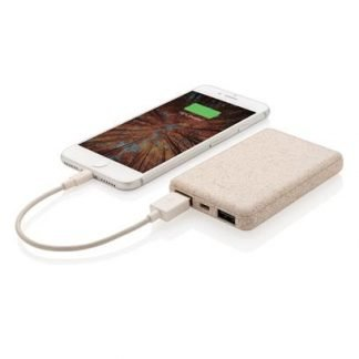 Wheat straw power bank