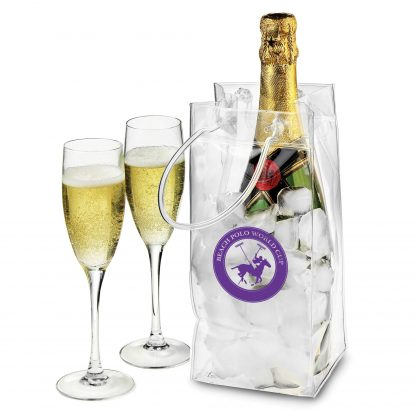 Bottle cooler carrier bag