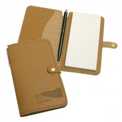 Recycled leather Jotter