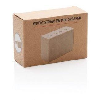 Wheat straw mini speaker