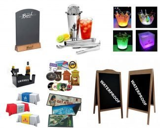 Branded Bar Accessories