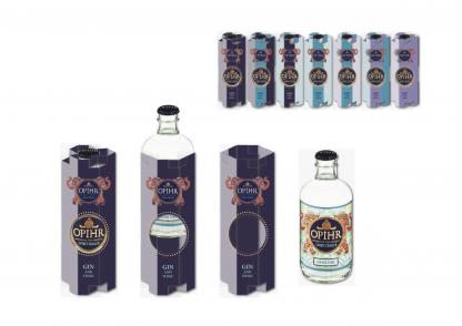 Ophir Gin Bespoke Packaging