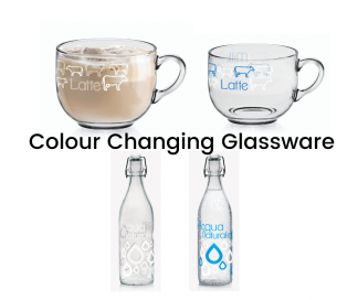 Colour Change Glassware