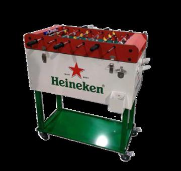 Foosball Cooler Box