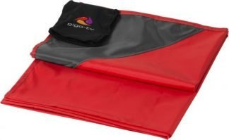 Stow and go water resistant picnic blanket