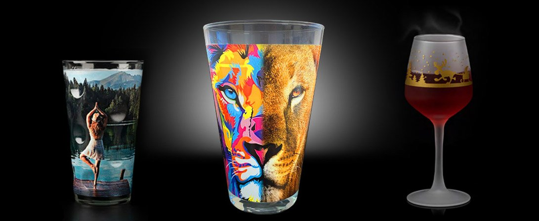 Prints on Glasses Examples