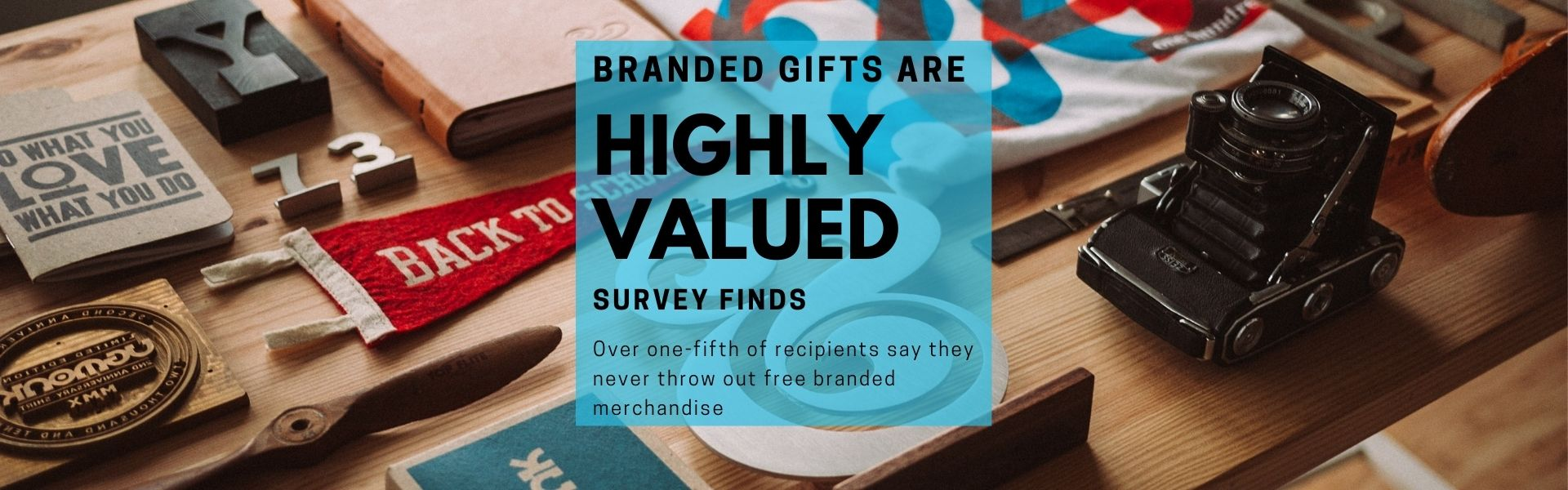 Branded Merchandise Survey Main Image With Branded Merchandise