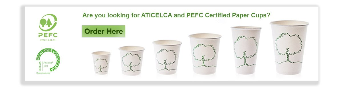 Branded Paper Cups All Sizes