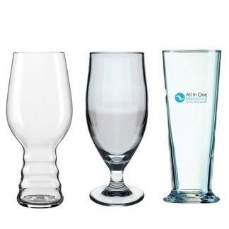 Branded Cider Glasses