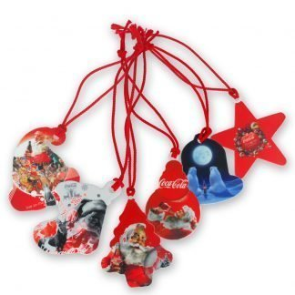 Recycled Plastic Christmas Tree Decorations Set