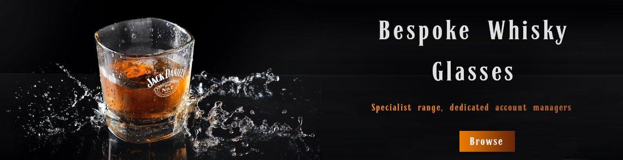 Branded Promotional Whisky Glass Banner
