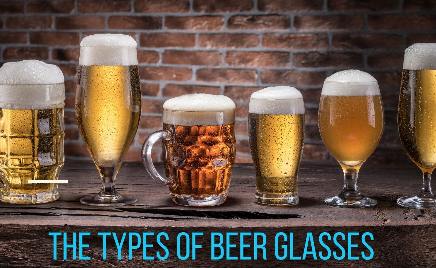 Types of beer glasses featured image