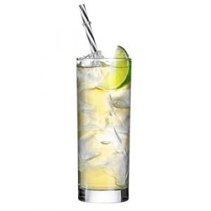 A glass of Gin and Tonic