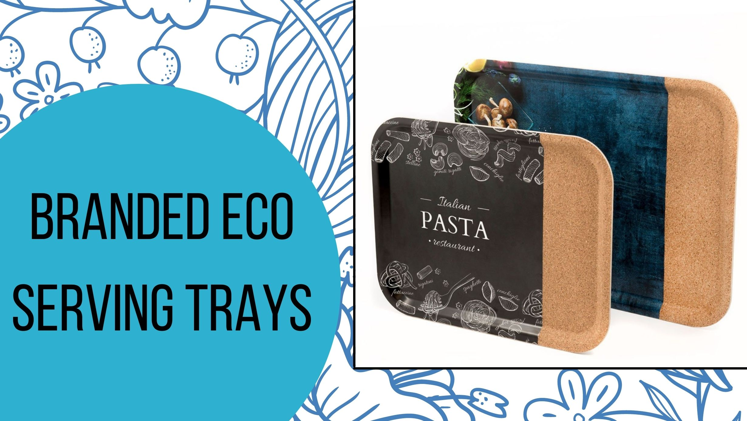 Header image for branded eco serving trays article