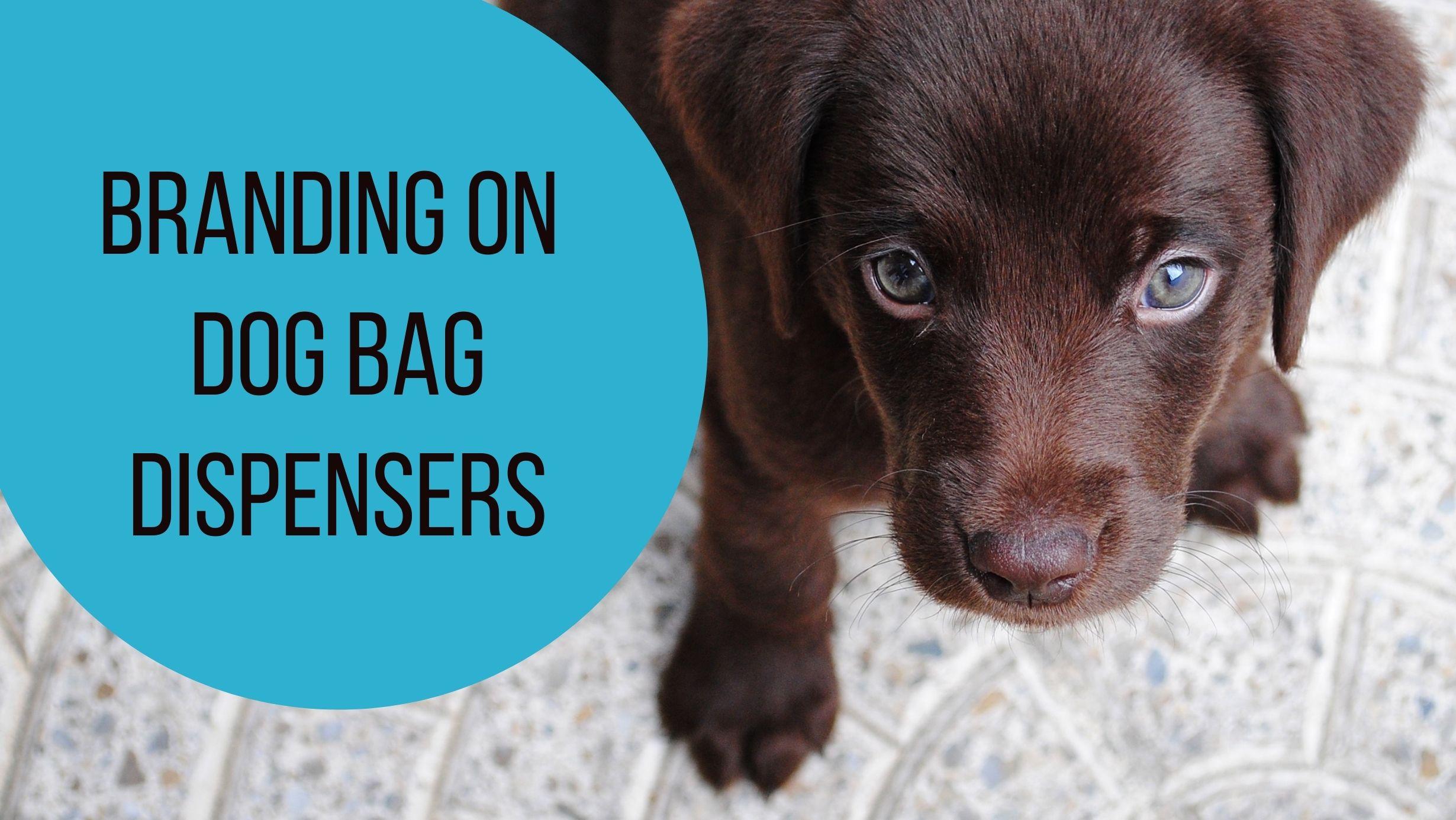 header image for dog bag dispenser article - simple