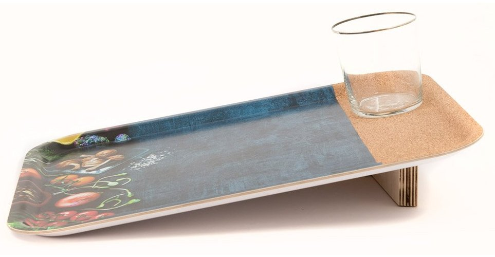 Eco serving tray grip