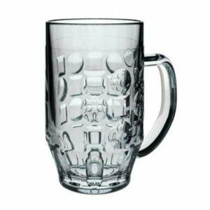 Tankard pint glass