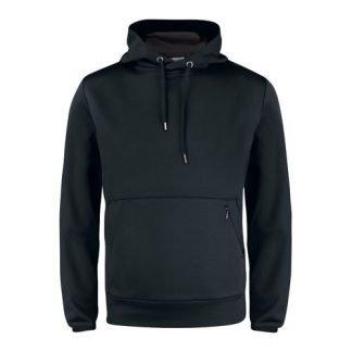 Mesh hood pullover