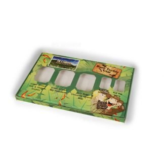 Windowed snack packaging