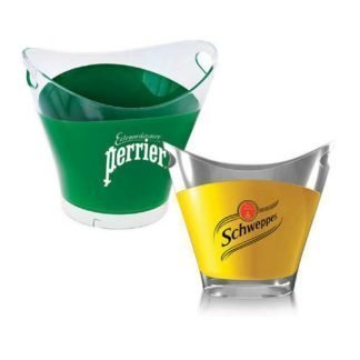 double colour ice bucket