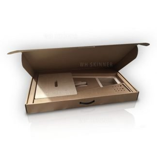 Flat pack box