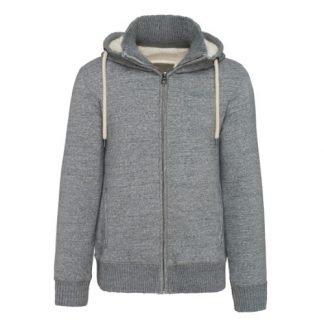 sherpa lined fleece hoodie